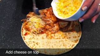 Thanksgiving Turkey Quesadilla Recipe With Panini Bread From Damascus Bakeries Flatbread Company