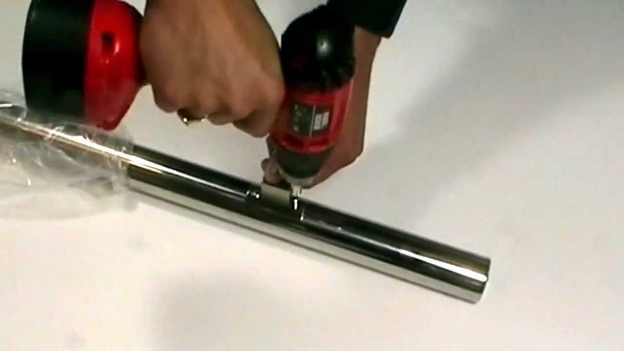 Demonstratie: rvs-trapleuning monteren - YouTube