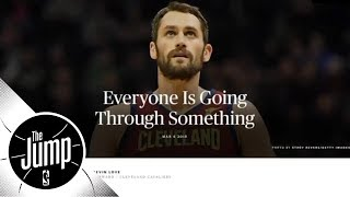 Kevin Love and DeMar DeRozan helping to change stigma around mental health issues | The Jump | ESPN