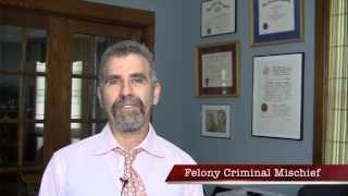 Ithaca Lawyer: Destroy $250 = New York Felony Criminal Mischief?