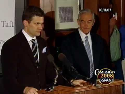 Image result for Spencer introduces Ron Paul