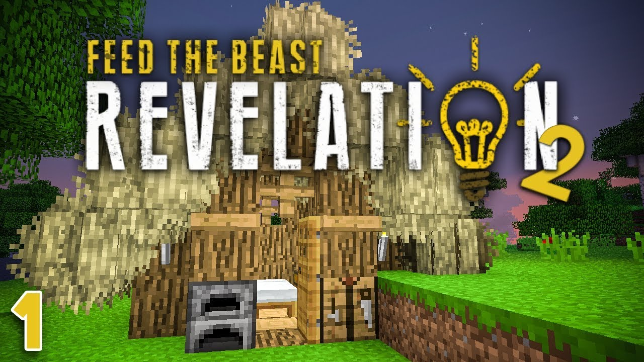 NEW FTB Revelation 2 EP1 Patreon Server Starting Day