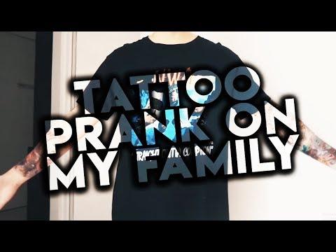 Cover Lagu TATTOO PRANK ON MY FAMILY! HITSLAGU
