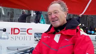 Francis Joyon et IDEC SPORT sont à Saint-Malo !
