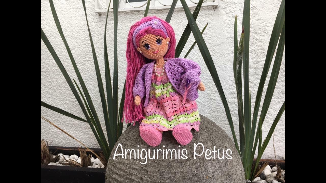 Amigurumis Muñecas : Como tejer piernas muñeca melany amigurumis petus primera parte