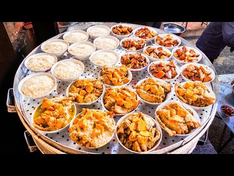 INSANE Street Food FEAST in RURAL CHINA | UNSEEN Chinese STR