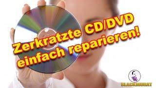 Tutorial: Zerkratzte CD/DVD einfach reparieren #Tipps&Tricks