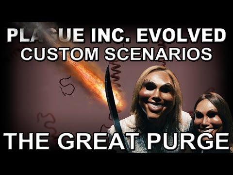 Plague Inc. Evolved Custom Scenario: The Great Purge + CHEATS!
