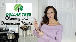 10 Dollar Tree Cleaning and Organizing Hacks