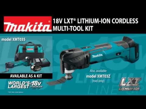 TOOL ONLY| Makita XMT03Z 18V LXT Lithium-Ion Cordless Oscillating Multi-Tool