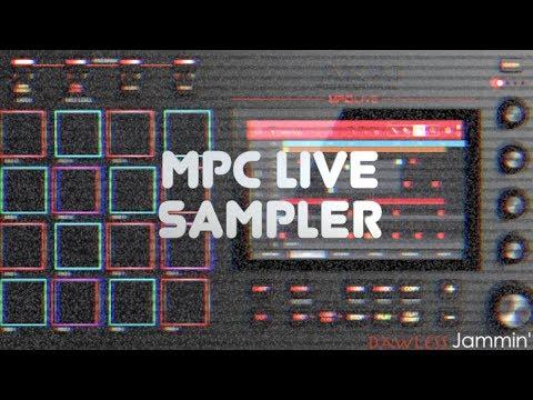 MPC Live Tutorial - Sampler