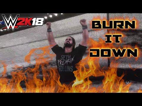 WWE 2K18 Seth Rollins Entrance w/
