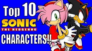Top 10 Sonic the Hedgehog Characters - Nerdword Entertainment