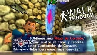 The Legend of Zelda (Ocarina of Time): All 36 Heart Piezes (todas las Piezas de Corazón).