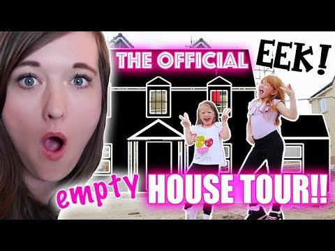 THE OFFICIAL EMPTY NEW HOUSE TOUR!
