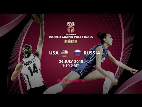 Live: USA Vs Russia - FIVB World Grand Prix Finals 2015
