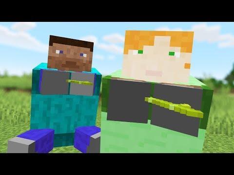 STRANGEST Cursed Minecraft world Mobs yet...