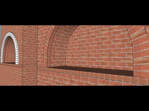 Sketchup Making Of Creating Brick Arch With Texture And