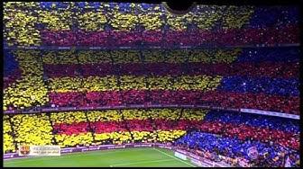 Amazing FC Barcelona Anthem Live at Camp Nou El Clasico El Cant del Barça