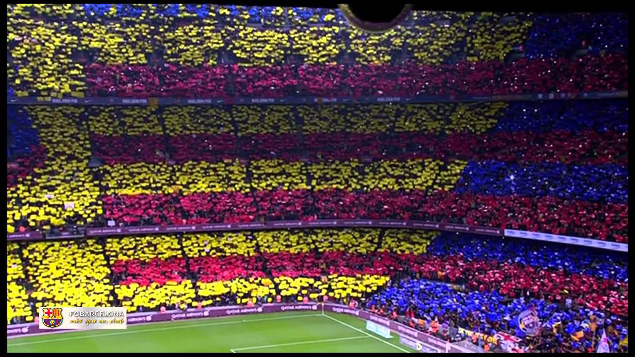 Amazing Fc Barcelona Anthem Live At Camp Nou El Clasico El Cant Del Barca You