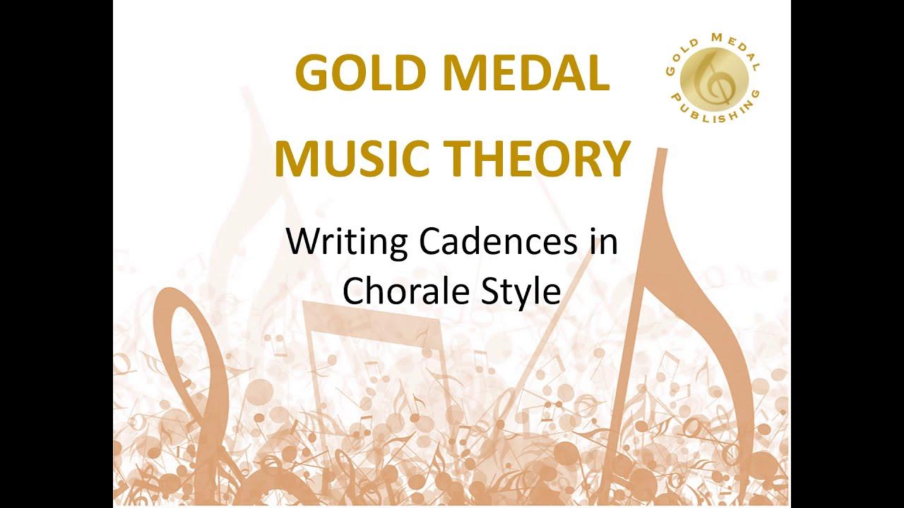 how to write chorale cadences