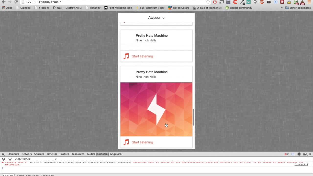angularjs ionic mobile app development tutorial youtube