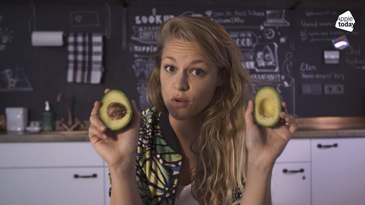 avocado in haar