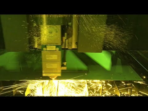 "2kW Fiber Laser Cutting 1/16"" Stainless Steel at 700ipm"