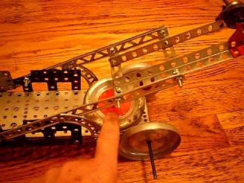 erector set ,t vintage,mobile crane