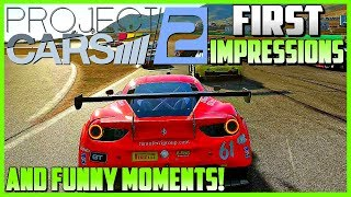 PROJECT CARS 2 | First Impressions and Funny Moments! (Racing, Rallycross, NASCAR, Drifting)