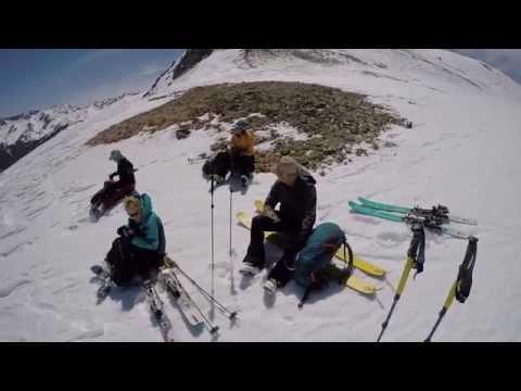 Wine and Cheese Ski Tour US Basin, North San Juan Mountains, Colorado 4/4/15