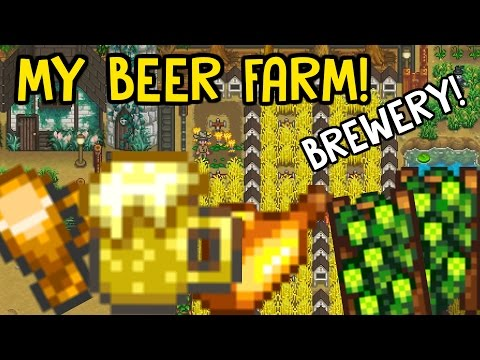 🍺Beer & Ale Project!🍺 - *BREWERY GUIDE* - Stardew Valley