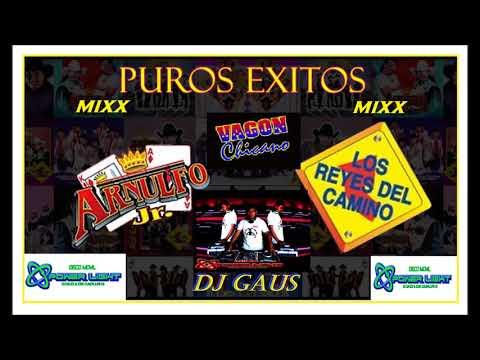 REYES DEL CAMINO  VAGON CHICANO  ARLNULFO JR MIXX EXITOS