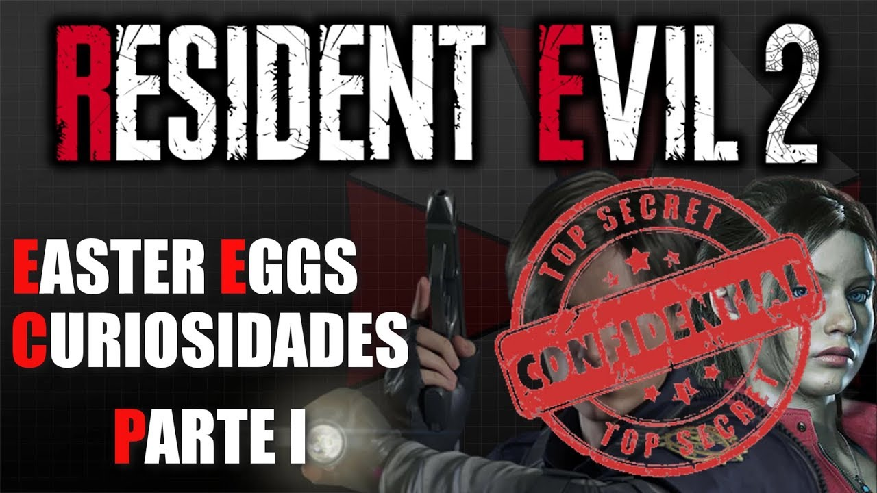 Resident Evil 2 REMAKE    EASTER EGGS y CURIOSIDADES - PARTE I