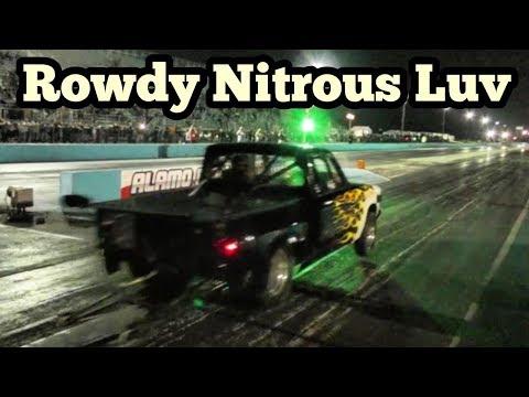 Rowdy Luv Nitrous Truck at Bounty Hunters No Prep
