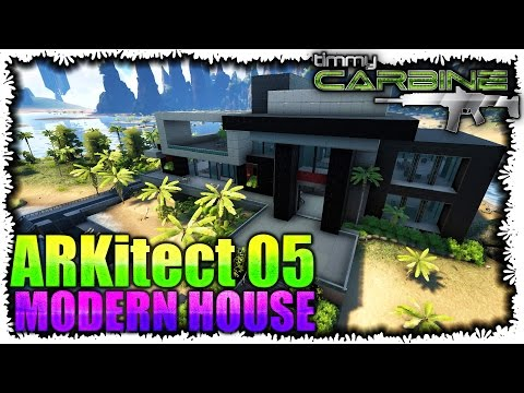Ark survival evolved building a house for brian s2e for Modern house ark