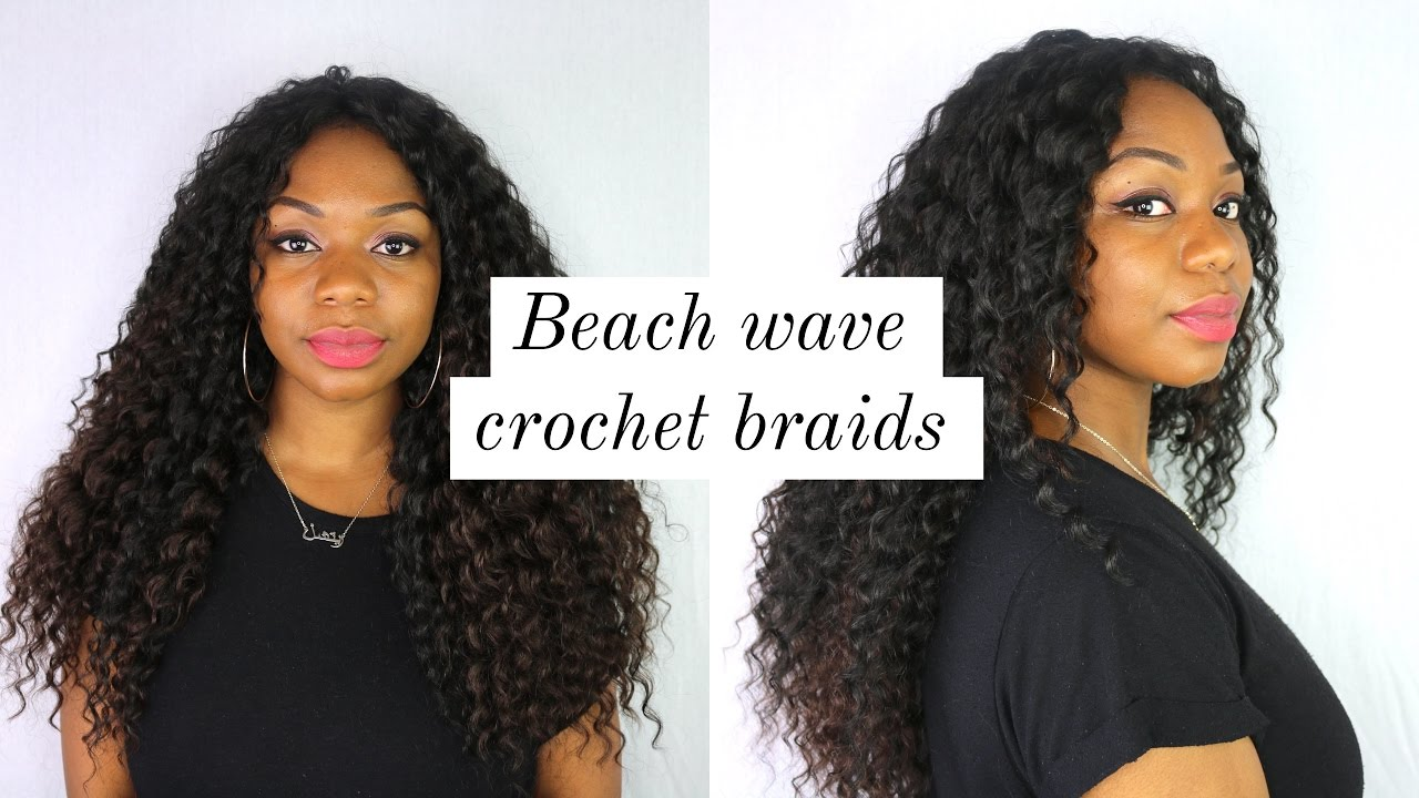 How To Get Soft Beach Curls With Curly Knotless Crochet Braids