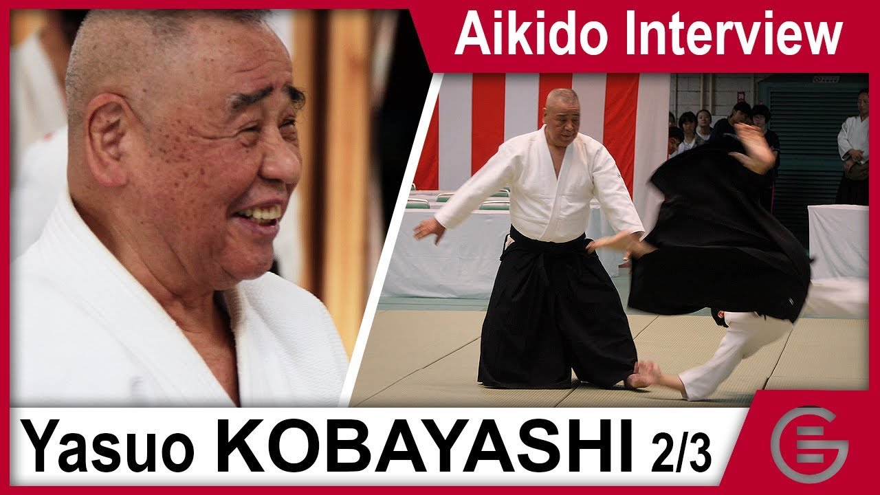 Aikido Documentary - Kobayashi Yasuo Shihan 8th Dan - Part 2/3