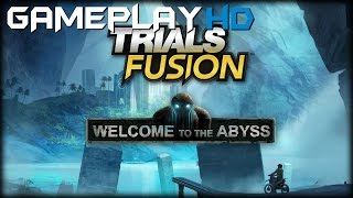Trials Fusion - Welcome to the Abyss Gameplay (PC HD)