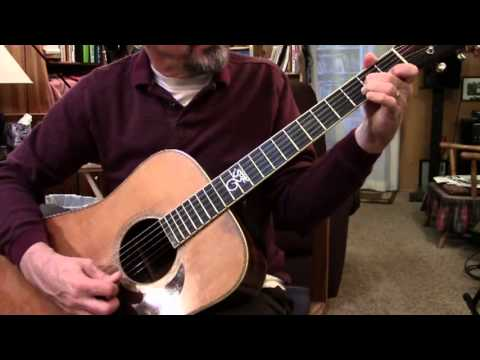 Wildwood Flower Guitar Lesson, Tutorial, Demonstration