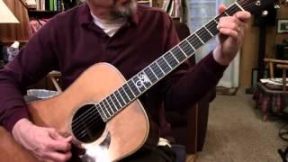 Wildwood Flower Guitar Lesson, Tutorial, Demonstration