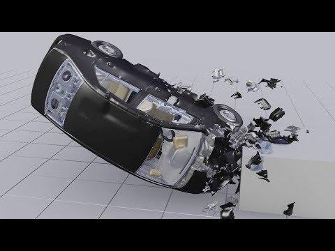 Driving Car Crash Simulation Development Reel (BCB, Fracture Modifier)