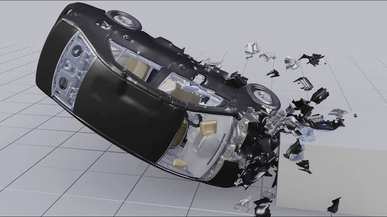 Driving Car Crash Simulation Development Reel (BCB, Fracture ...