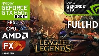 League of Legends - GTX 650 TI BOOST - FX6300 - 1080p(, 2015-06-07T22:31:24.000Z)
