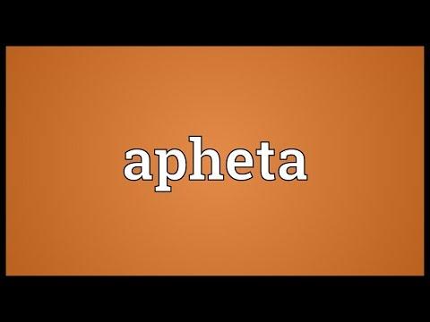 Header of Apheta
