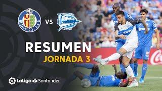Resumen de Getafe CF vs Deportivo Alavés (1-1)