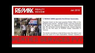 REMAX INDIA  TAMIL NADU  NOW IN ASHOK NAGAR  Chennai