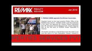 REMAX INDIA  TAMIL NADU  NOW IN ASHOK NAGAR  Chennai
