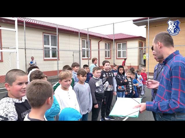 """""""Joacă fotbal cu FC Farul Constanța"""", la Școala Gimnazială """"George Coșbuc"""" din 23 August"""