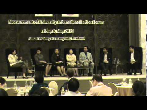 Measurement of University Internationalisation Forum (Part 3)
